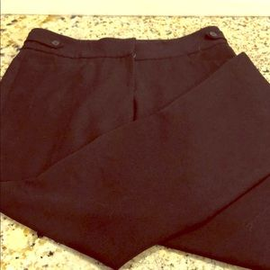 Anne Klein - Straight Leg Slacks - Size 4 - Black